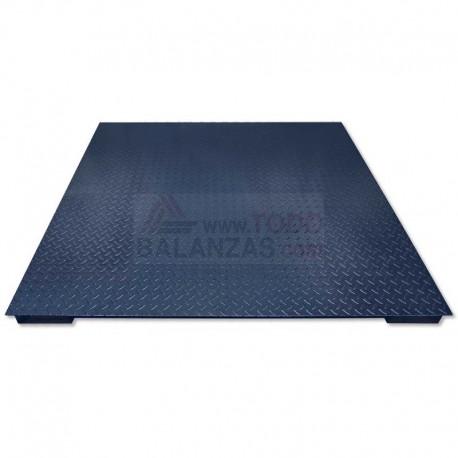 Plataforma de peso sobresuelo BDS4 de 600kg a 3000kg