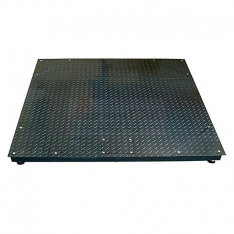 Plataforma de peso BDS4AS para empotrar y sobresuelo