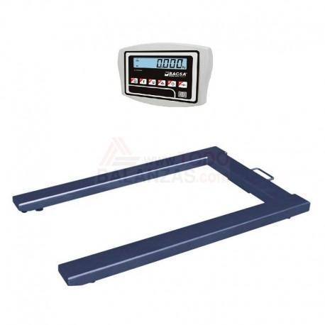 Bascula pesa palets portatil BDP 1.500kg con IB1707