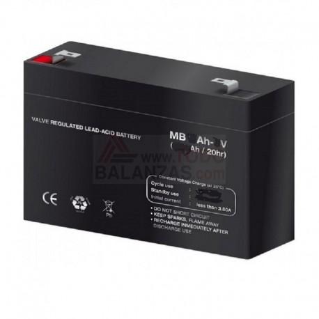 Bateria para balanza WPP y similares