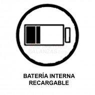 Bateria interna recargable para balanzas Bacsa B9