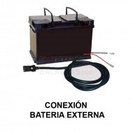Conexion Bateria Externa balanzas Bacsa B9 y BC1303