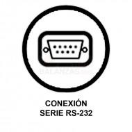 Conexion Serie RS232 para balanzas Bacsa B9 y BC1303