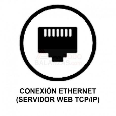 Conexion Ethernet para balanzas Bacsa