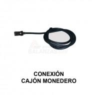 Conexion Cajon monedero para balanzas Bacsa
