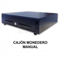 Cajon monedero manual