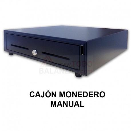 Cajon monedero manual