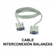 Cable interconexion balanzas