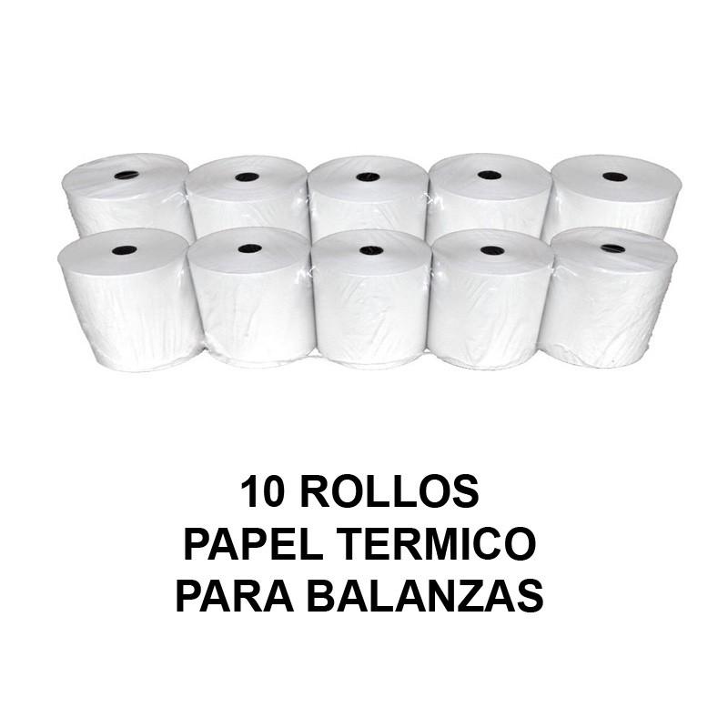 Papel termico balanzas 10 rollos rollos papel termico - Papel aislante termico ...