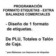 Programación 1 Formato Etiqueta de Balanza Comercial - Etiquetadora