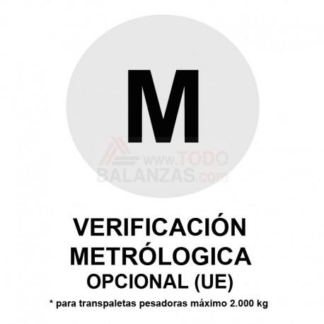Metrologia legal transpaletas máximo 2.000 kg