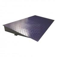 Rampa hierro plataforma 1000 x 1000 mm