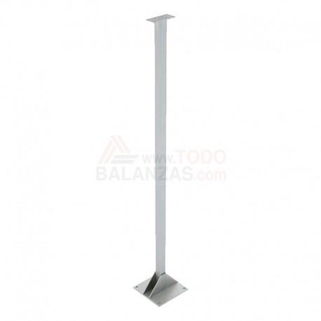 Columna para indicador en acero inoxidable de 100 cm