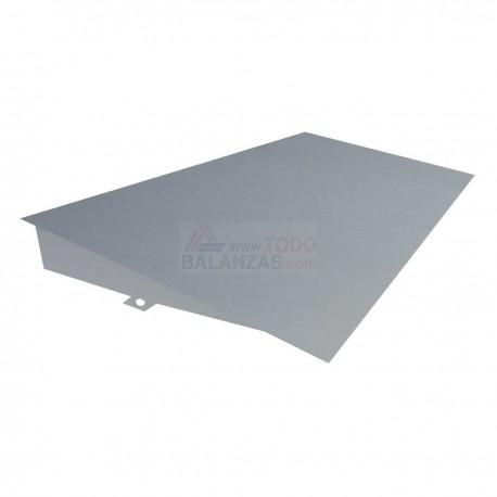 Rampa de acero inoxidable para plataformas 1200x1200 y 1200x1500 sobresuelo