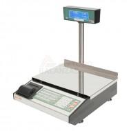 Balanza CP Inoxidable 6 vendedores con impresora