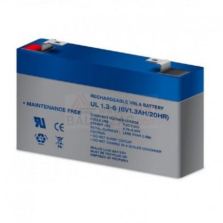 Bateria 6V 1.3Ah para balanza Bacsa Bs-1100 y similares