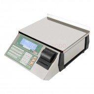 Balanza BP Inoxidable 6 vendedores con impresora