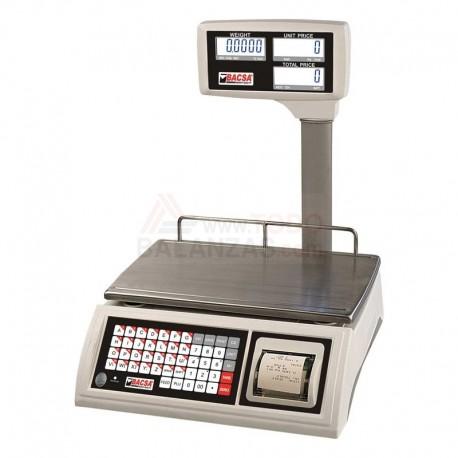 Balanza Cely WPP Visor Elevado con impresora vendedor y bateria interna