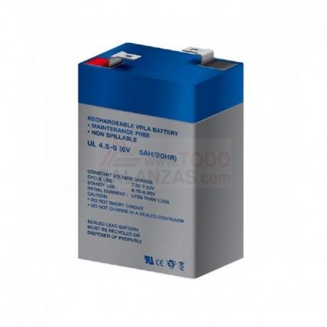 Bateria 6V para indicador Bacsa I-50 y similares