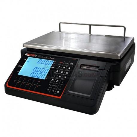 Balanza BC-1803 con impresora y 2 vendedores (lado vendedor sin columna)