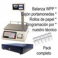 Pack Balanza WPP 6kg + Cajon + Papel