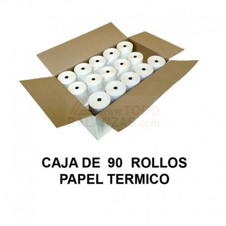 Papel termico 80x60mm caja (90u.)