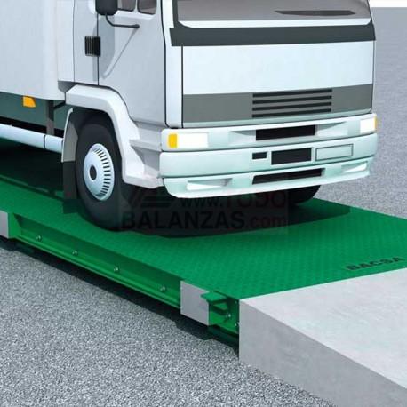 Bascula de camiones Metalica GRANIT Sobresuelo