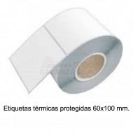 Etiquetas 60x100mm termicas protegidas (20x425)