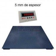 Bascula de Sobresuelo BDS4-I50 de 600 a 3000 kg