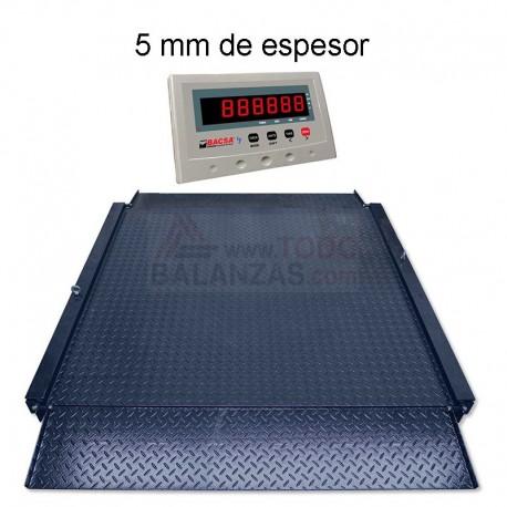 Bascula con rampas Bds4-PB-I50 de 600 a 3000 kg