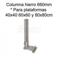 Kit columna hierro 660 mm para IB-1707 I-50 VC-50M
