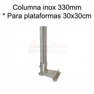 Kit columna inoxidable 330 mm para BDI-610I BDI-620I IB-1708