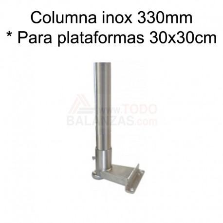Kit columna inoxidable de 330mm para indicadores BDI-610I BDI-620I IB-1708