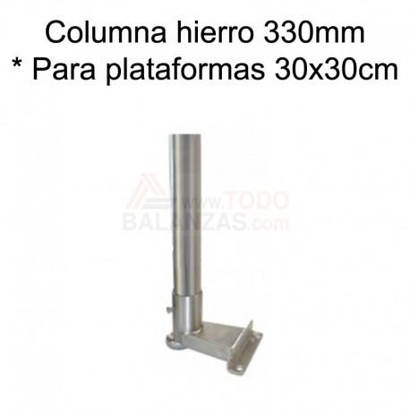 Kit columna hierro de 330mm para indicadores Bacsa BDI-610 ABS