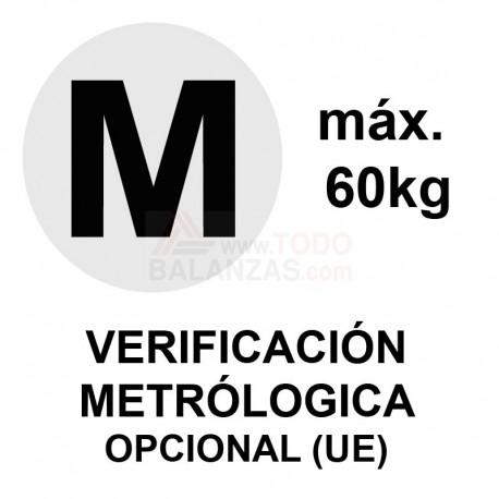 Metrologia legal máximo 60 kg