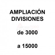 Ampliacion divisiones de 3000 a 15000 para conseguir mas precision