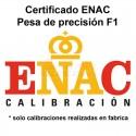 Certificado ENAC Pesa F1