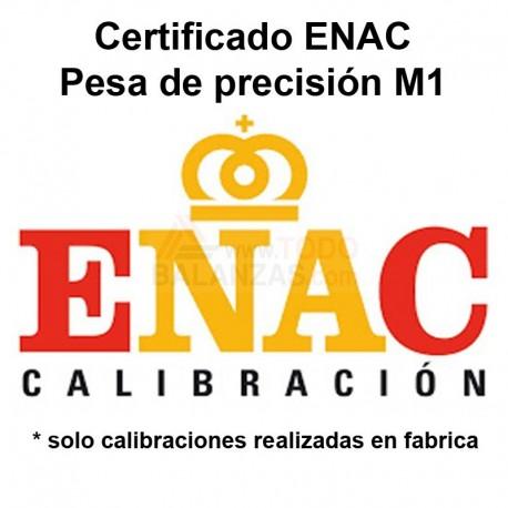 Certificado ENAC Pesa M1
