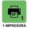 Impresora interna de ticket y etiquetas