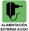 Alimentación externa AC/DC