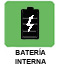 Bateria Interna contra cortes de suministro electrico