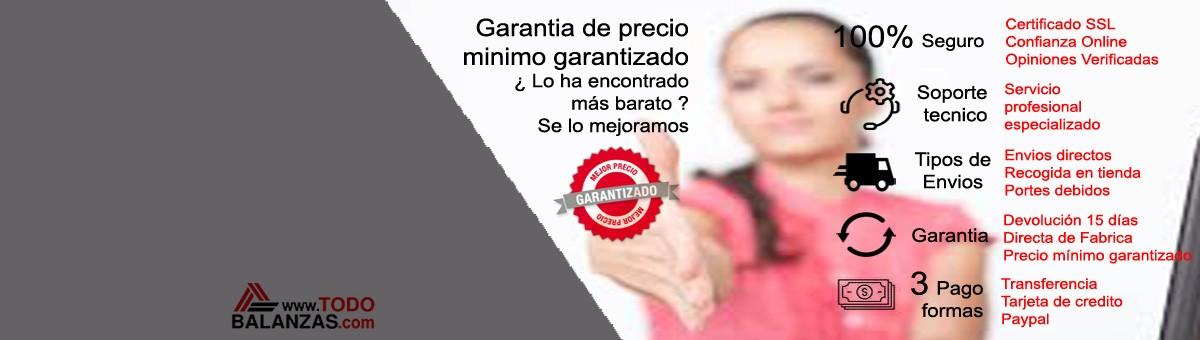 La confianza de los clientes en www.todobalanzas.com esta 100% asegurada