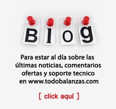 BLOG - Para estar al día sobre las últimas noticias, comentarios y soporte en www.todobalanzas.com
